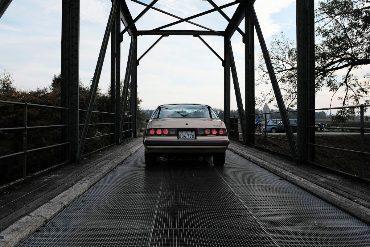 Ford Thunderbird Turbo Coupe Bridge Rear